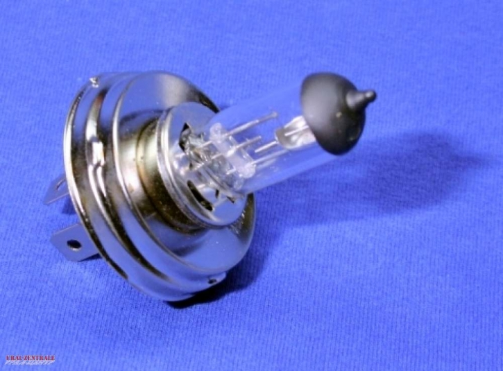 Halogen lamp 12V 35/35W with socket for normal bulbs