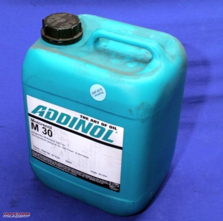 Engine oil HD30, 10 litres