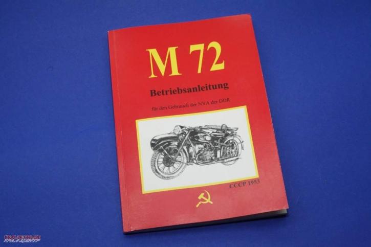 German user manual M 72