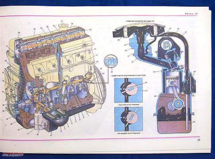 Technical illustrated teaching book