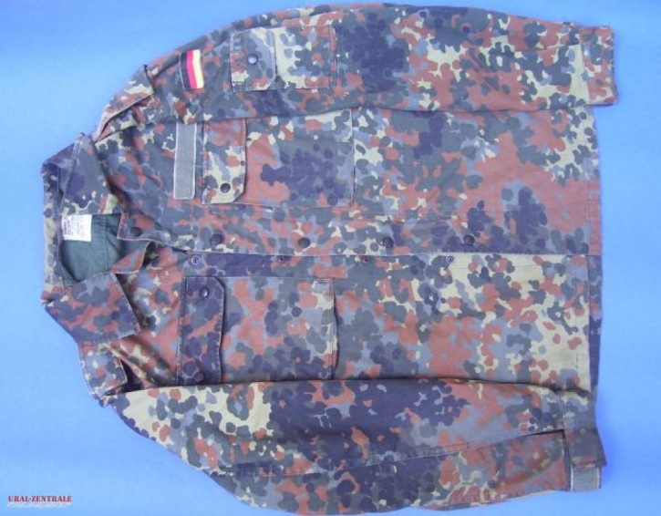 Tarnhemd 'Camouflage', Größe XXL