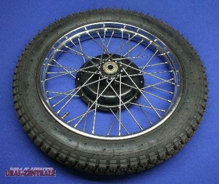 Rad M72 komplett mit Reifen 4,00x19