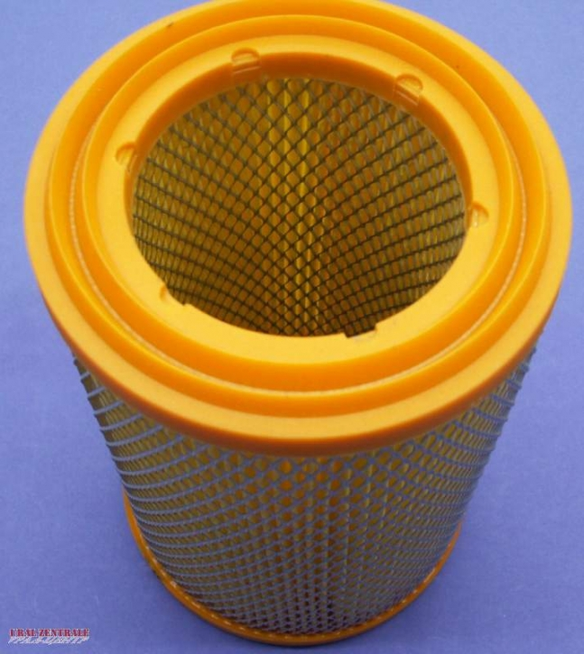 Air filter element, improved in EU-quality