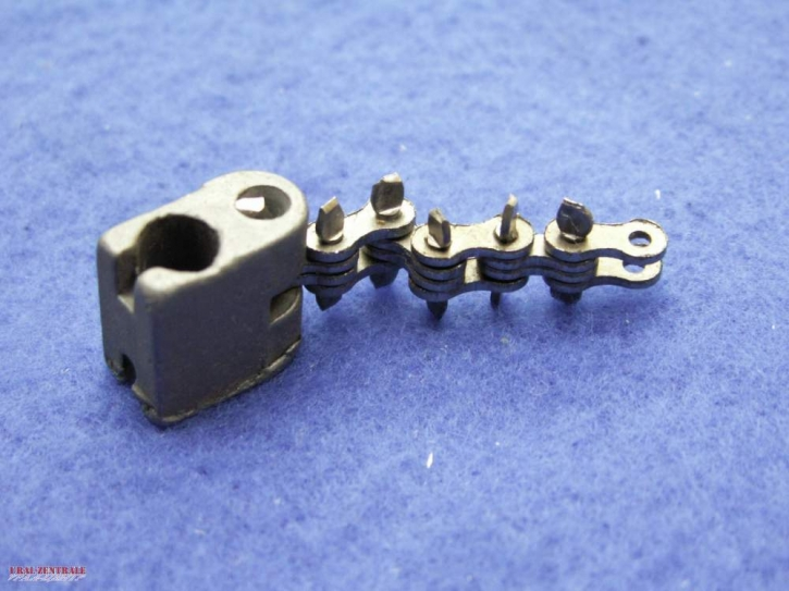 Throttle twistgrip chain with slider for Dnepr and Ural