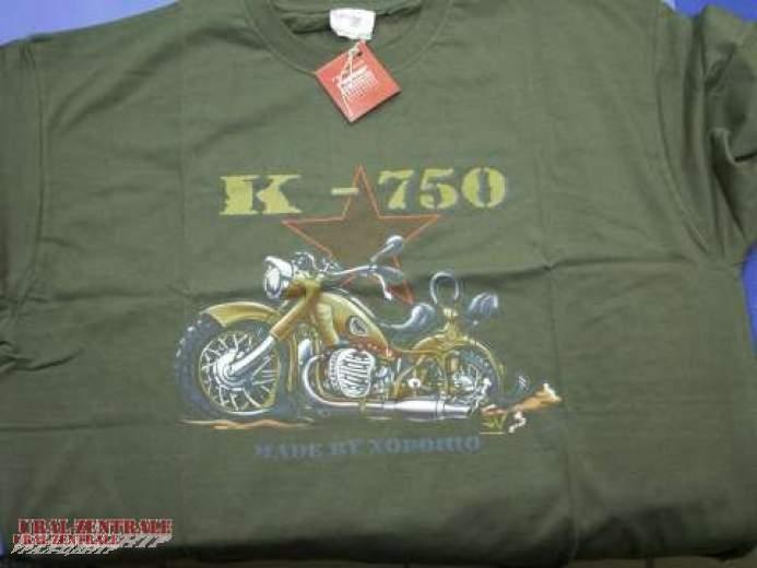 T-shirt K 750 green BUSS, size M