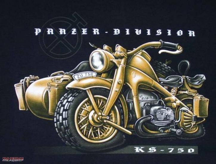 T-shirt »Panzer Division«  BUSS, size XL