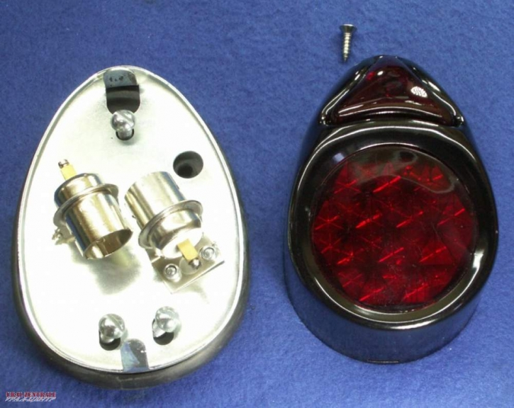 K750 tail light black, without license plate illumination