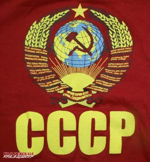 T-shirt CCCP red, size XXXL