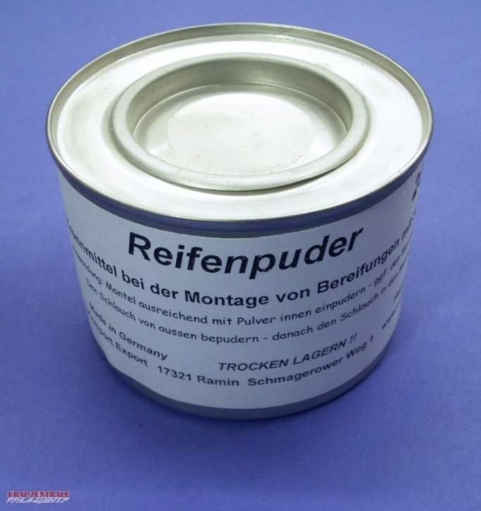 Reifenpuder / Talkumersatz