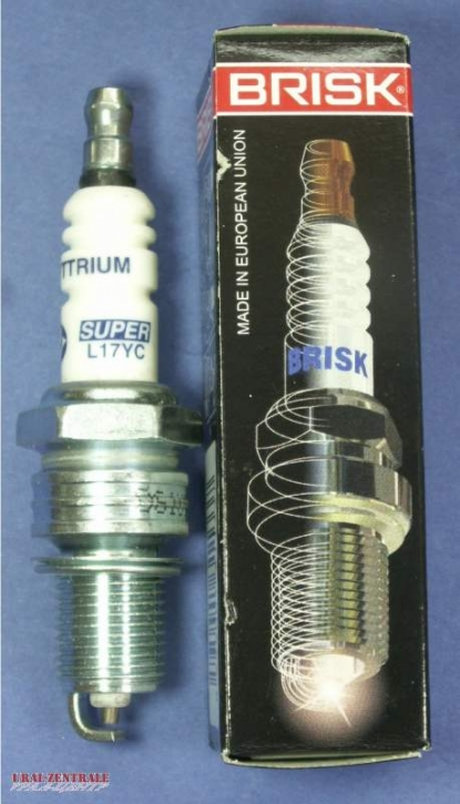 Spark plug long thread Brisk 165