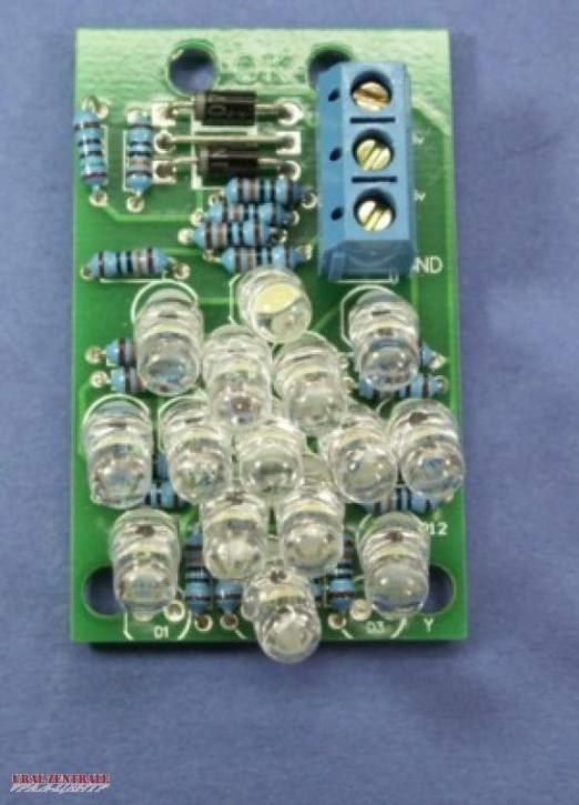 LED Einsatz für M72 Rücklicht ohne Kennzeichenbel. 12V