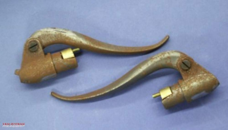 Set of inner cable levers made from cast iron