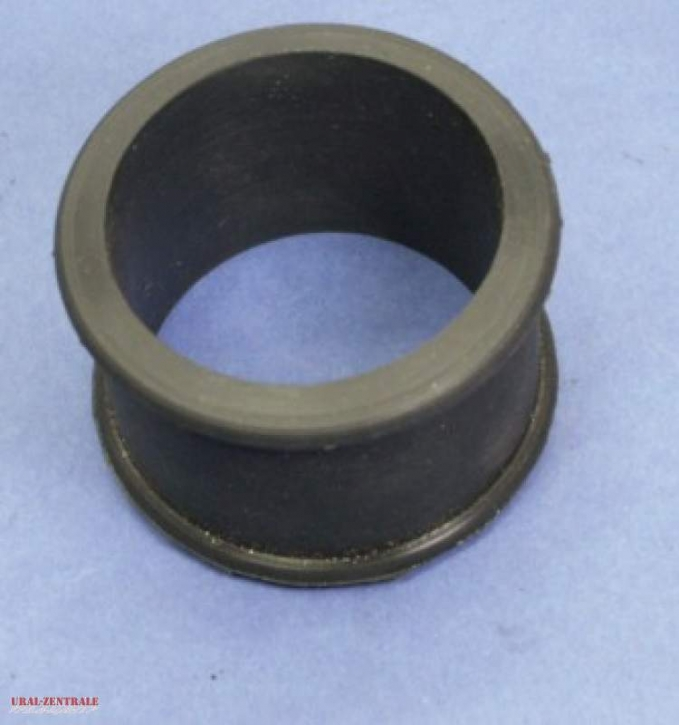 Flange rubber carburettor air tube 37 mm