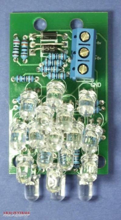 LED tail light MT12, extreme energy-saving, 6V