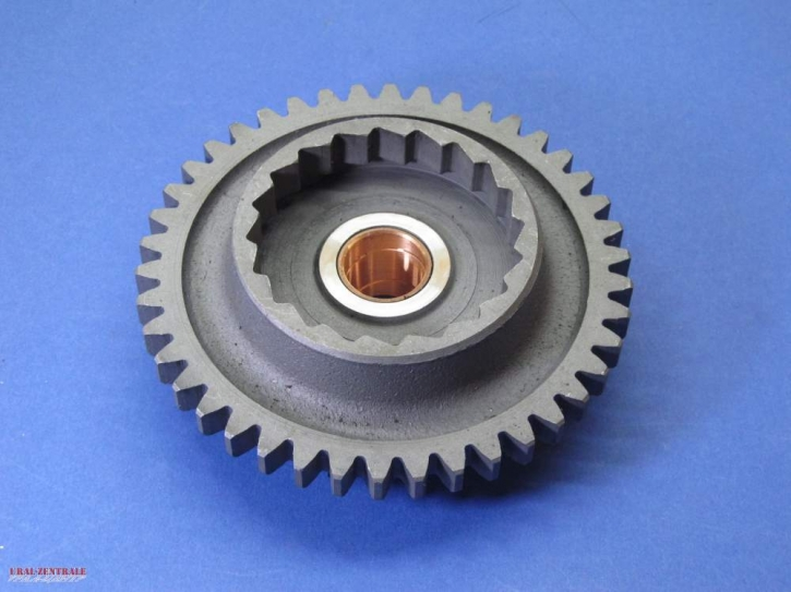 Kickstarter gear Ural / M72, 42 teeth, w Reverse gear