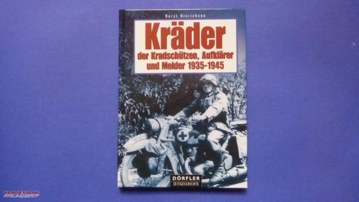 German WW2 Kradschützen and Aufklärer Book