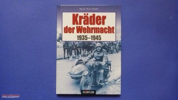 """Buch """"Kräder der Wehrmacht 1935-1945"""" von Horst Hinrichsen"""
