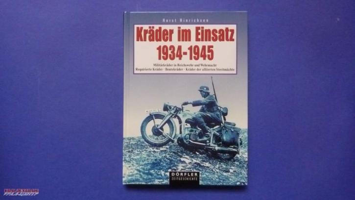 """Buch """"Kräder im Einsatz 1934-1945"""" von Horst Hinrichsen"""