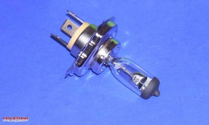 Glühbirne 6V 25/25 Watt PX43T Halogen