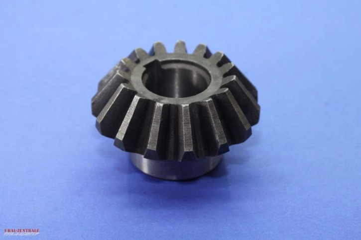 Blade shaft bevel gear