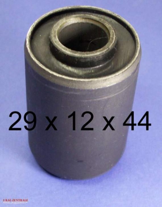 Rubber & metal bush Ural 29 x 12 x 44
