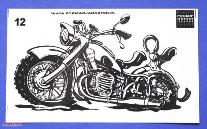 K750 caricature sticker lucent