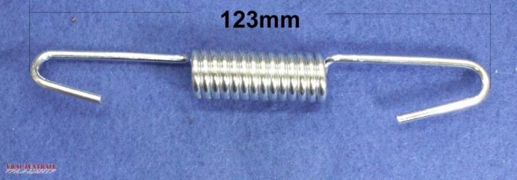 Bremsbackenfeder 123mm lang, verzinkt