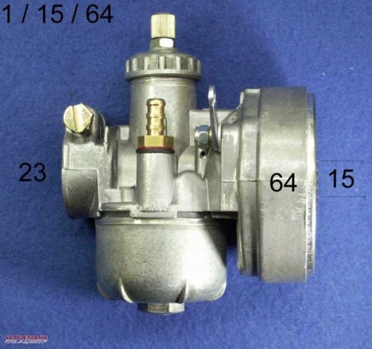 Carburettor 15 mm for moped like BING