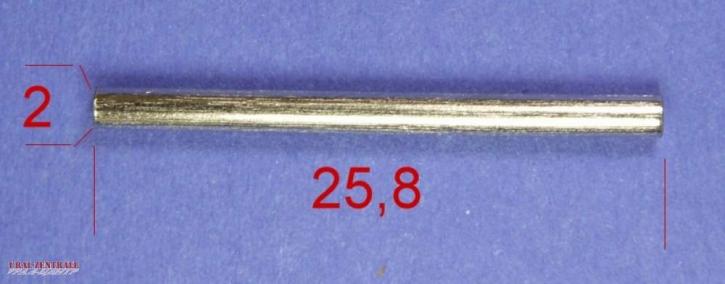 Schwimmerachse für Bing 2mm x 25,8