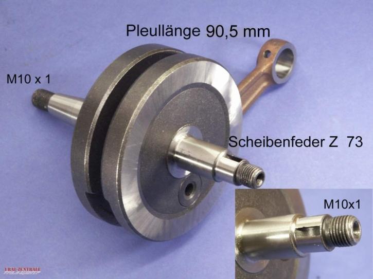 Kurbelwelle Tuning für Zündapp M25 / M50 / Bergsteiger
