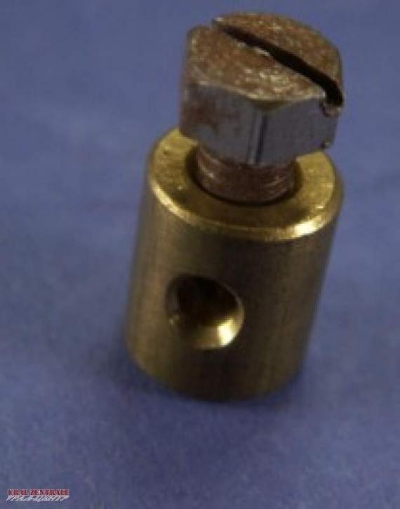 Cylindric screwed nipple