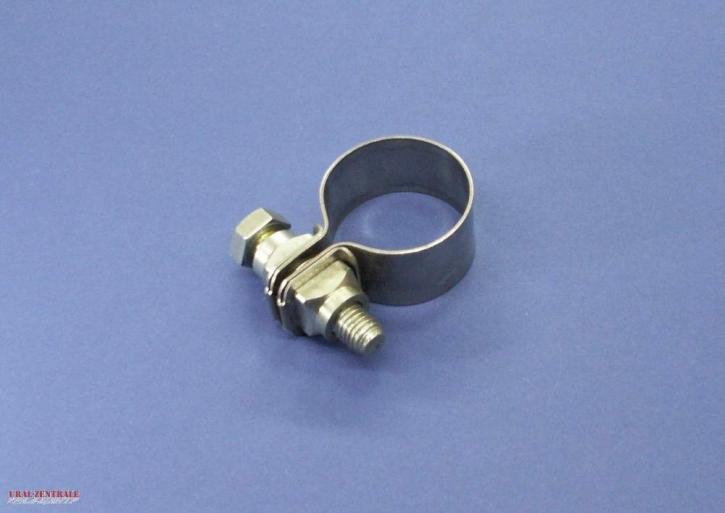 VA Krümmerschelle 38,5mm für Tröten und Fischschwanz