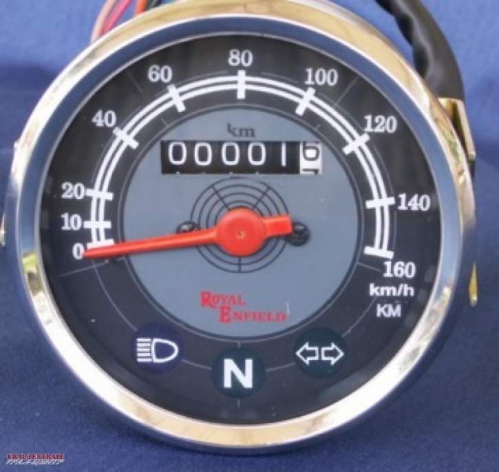 Speedometer Royal Enfield 80 mm