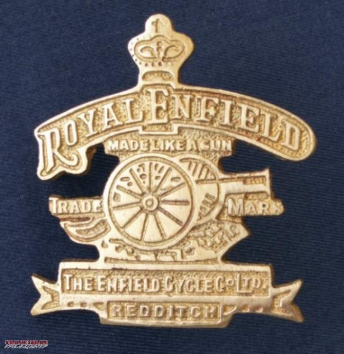 Royal Enfield Emblem messing