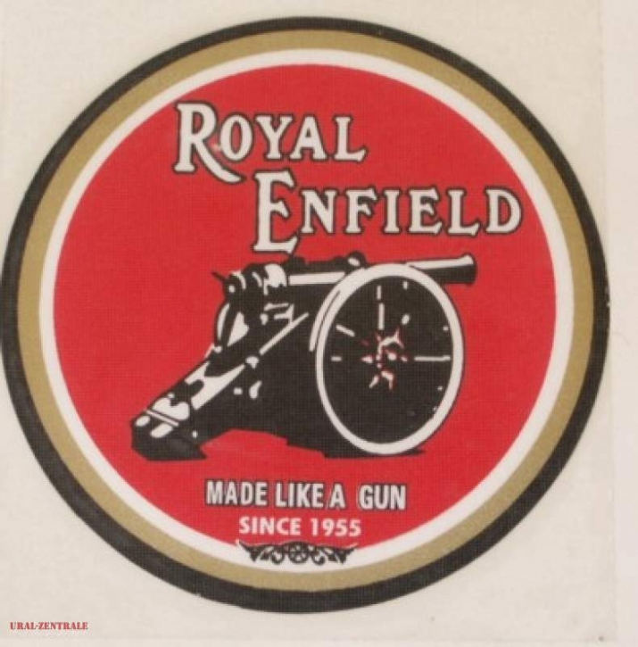 Sticker Royal Enfield circular 75mm