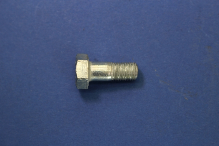 Special bolt 8 x 1 mm fine pitch thread with shank for mudguard