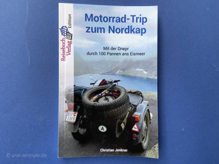 "Buch ""Motorrad – Trip zum Nordkap"""