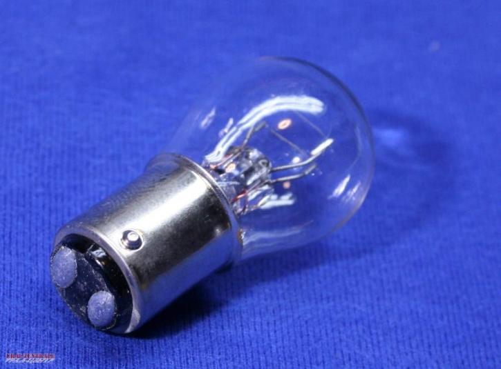 Glühbirne 6V, Zweifadenlampe stromsparend