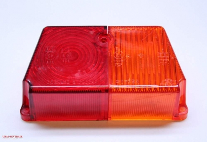 Spare lens sidecar tail light