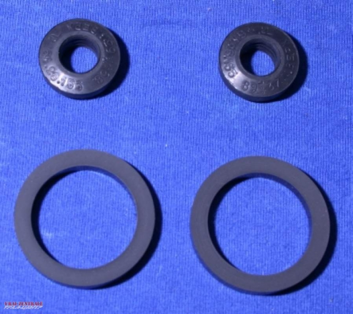 Shock absorber gasket set for 2 absorbers