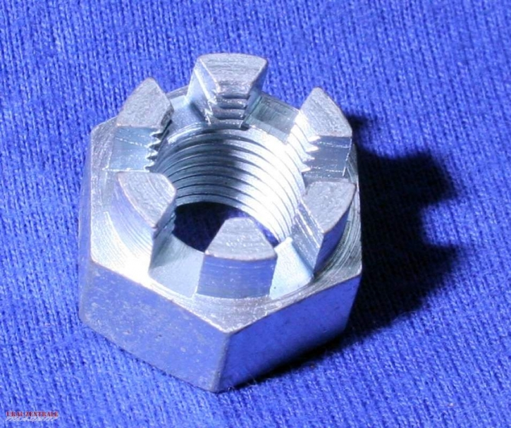 Castellated nut M11 x 1 fine pitch thread