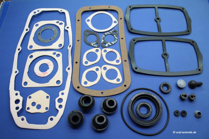 Gasket and sealing set Dnepr engine