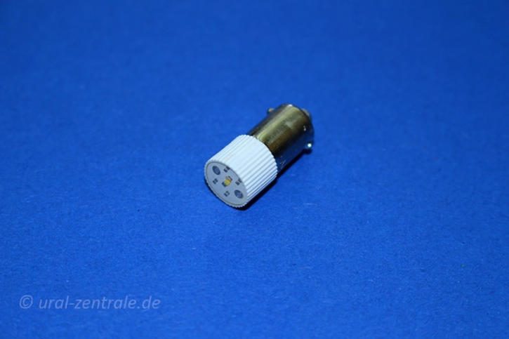 LED lamp 6.3V BA9S