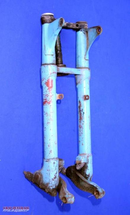 Trailing link front fork