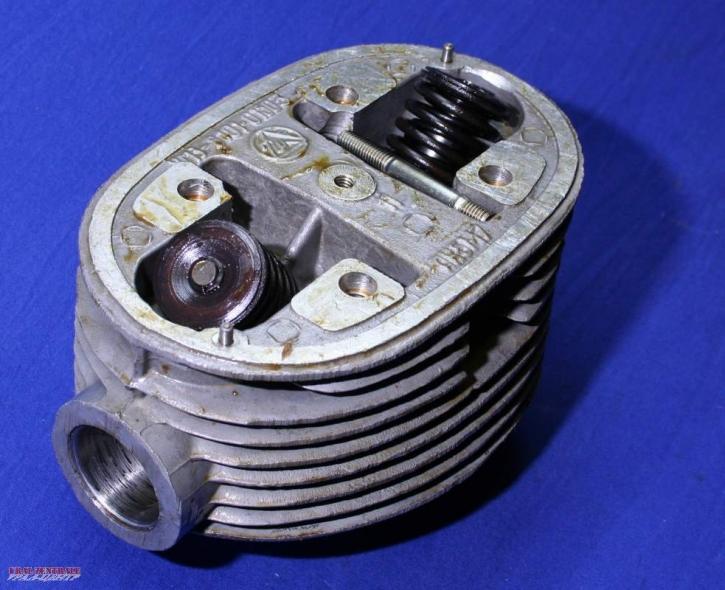 Zylinderkopf Ural komplett Original, links