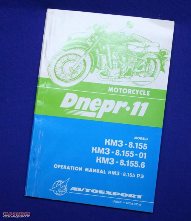 Operating manual Dnepr MT11, English