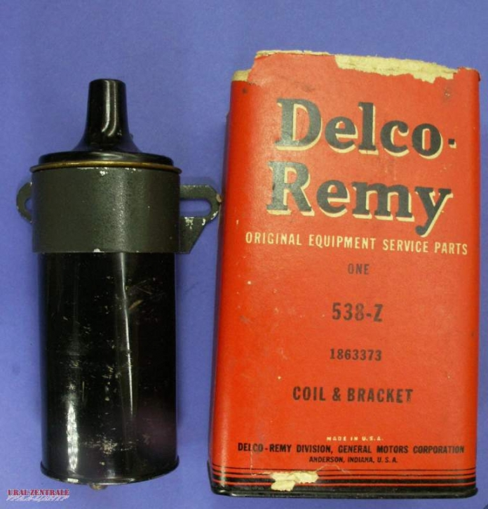 Ignition coil Original Delco Remy