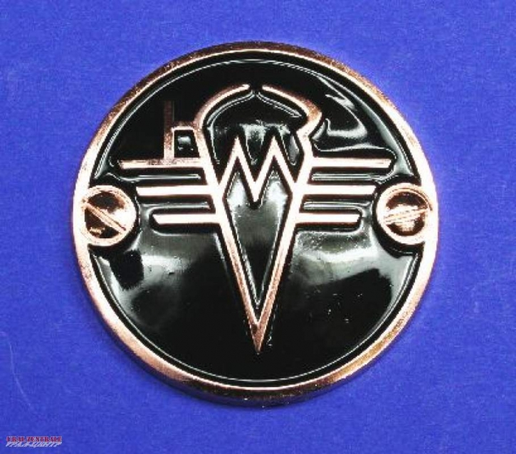 Fuel tank emblem KMZ copper / black