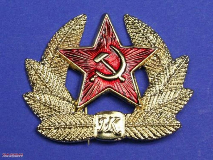 Stick pin Russian star / hammer and sickle