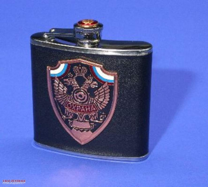 Getränkeflasche 'Ochrana' (Schutz)
